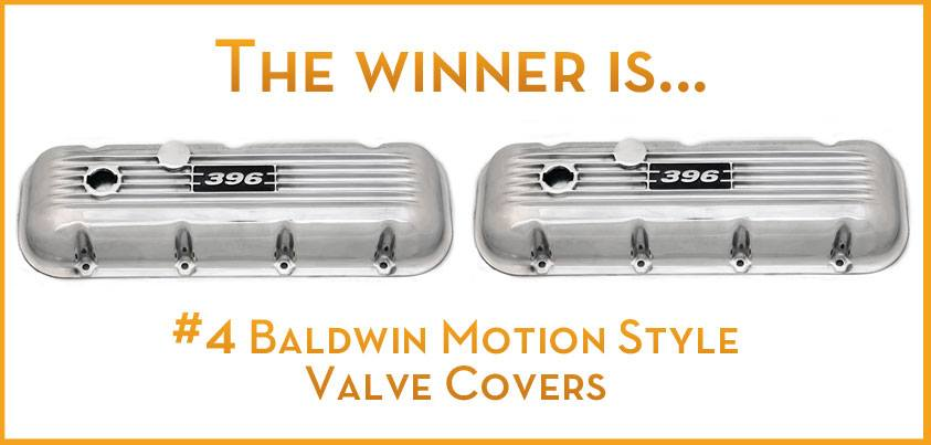 Baldwin Motion Style valve covers