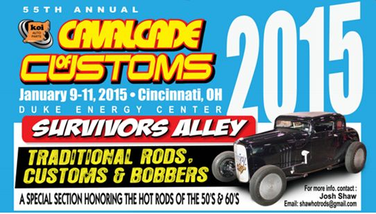Cincinnati Car Show 2015 Cavalcade of Customs
