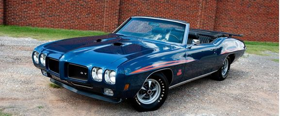 1970 Pontiac GTO Judge convertible1