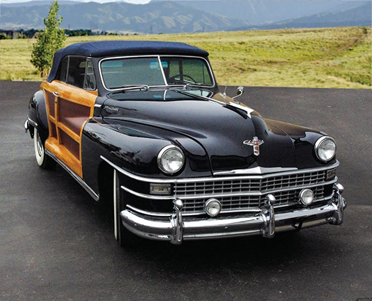 1948 Chrysler Town and Country front