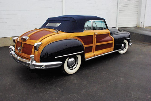 1948 Chrysler Town and Country Conv  rear