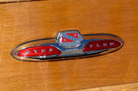 1952 Buick Super Estate Woodie Wagon emblem