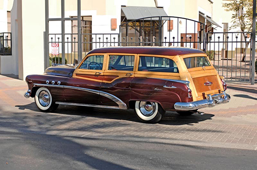 1952 Buick Super Estate Woodie Wagon left side