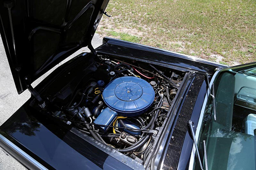 1966 Lincoln Continental Convertible engine