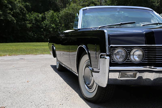1966 Lincoln Continental Convertible right side