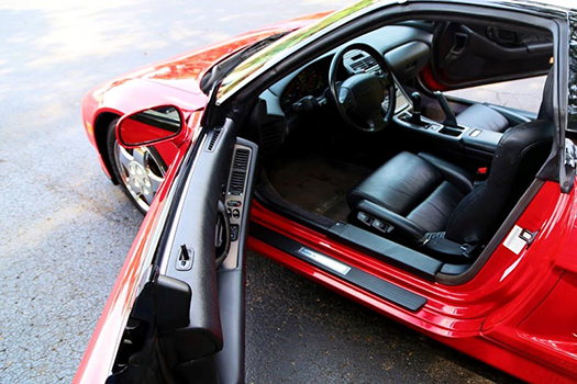 1992 Acura NSX left door