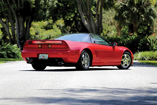 1992 Acura NSX rear