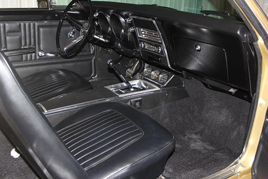 67 Chevrolet Camaro interior