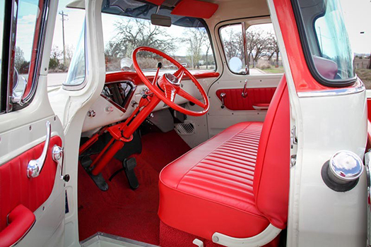 1956 Chevrolet Cameo interior