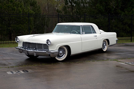 1956 Lincoln Continental Mark II front