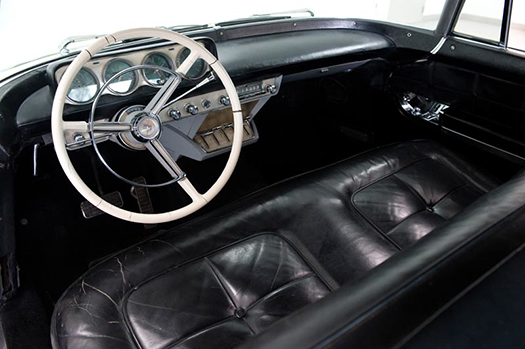 1956 Lincoln Continental Mark II interior