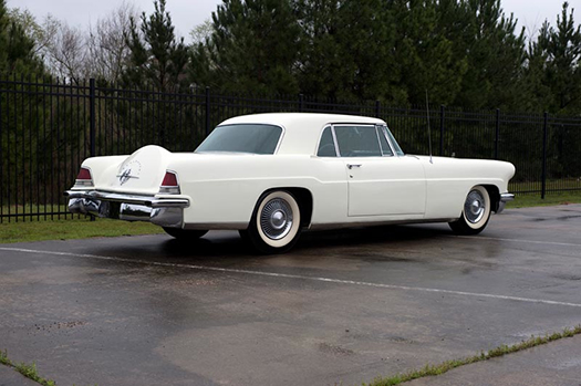 1956 Lincoln Continental Mark II  rear