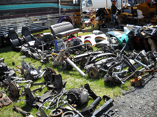 swap meet car parts