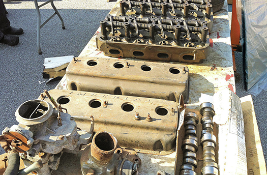 swap meet engine valve covers