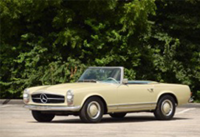 1966 Mercedes 230SL left side