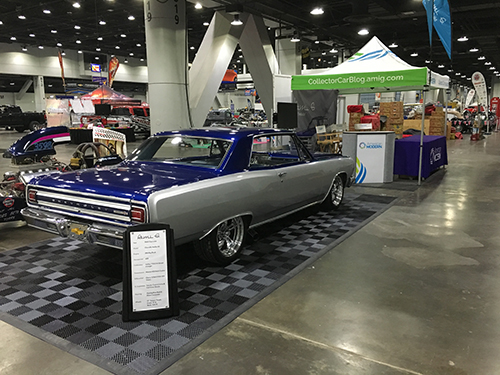Ami G 1965 Chevy Malibu SS at Cavalcade