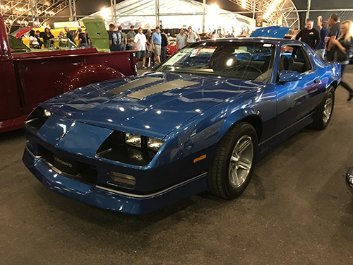 Barrett Jackson Auction Camaro